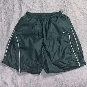 Dark Green Women's Large Nike Joggers w/ elastic